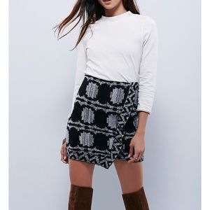 Free people sweater skirt!